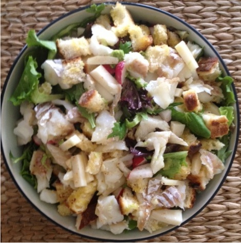 wild cod salad